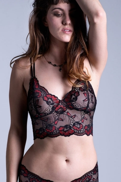 On the Inside Lace Bra Brief Set