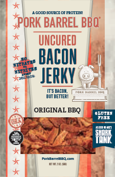 Original BBQ Bacon Jerky - 12 Pack Case