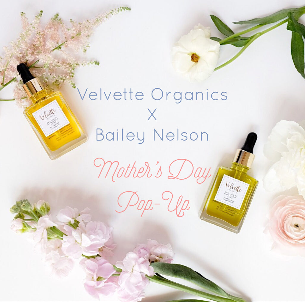 Bailey Nelson x Velvette Mother's Day Pop-Up