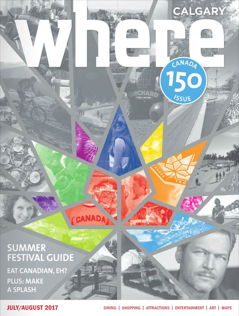 Featured in Where Magazine's Canada 150 Edition!