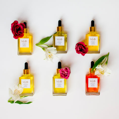 Velvette Organics Facial Oils Collection