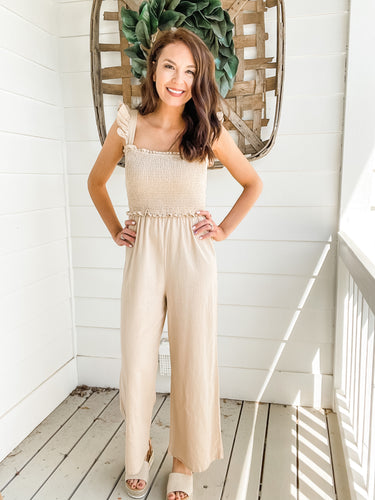 Hailey Linen Jumpsuit