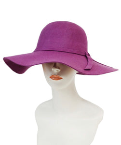 Bowknot Floppy Hat