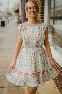 Maggie Embroidered Dress