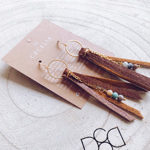 Tassel Earrings by Cecelia Designs