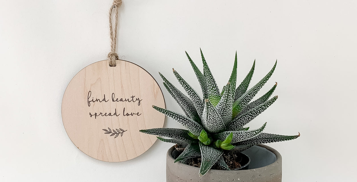 find beauty spread love_urban nest decor