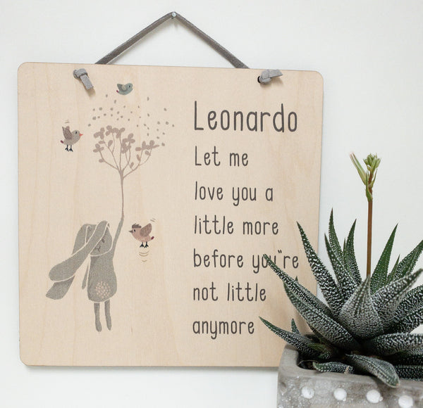 let me love you a little more before you're not little anymore_urban nest decor