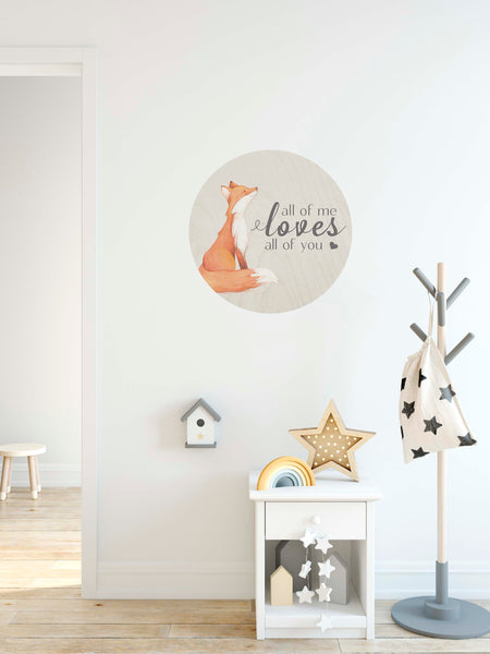Urban Nest Decor_All of me loves all of you_fox