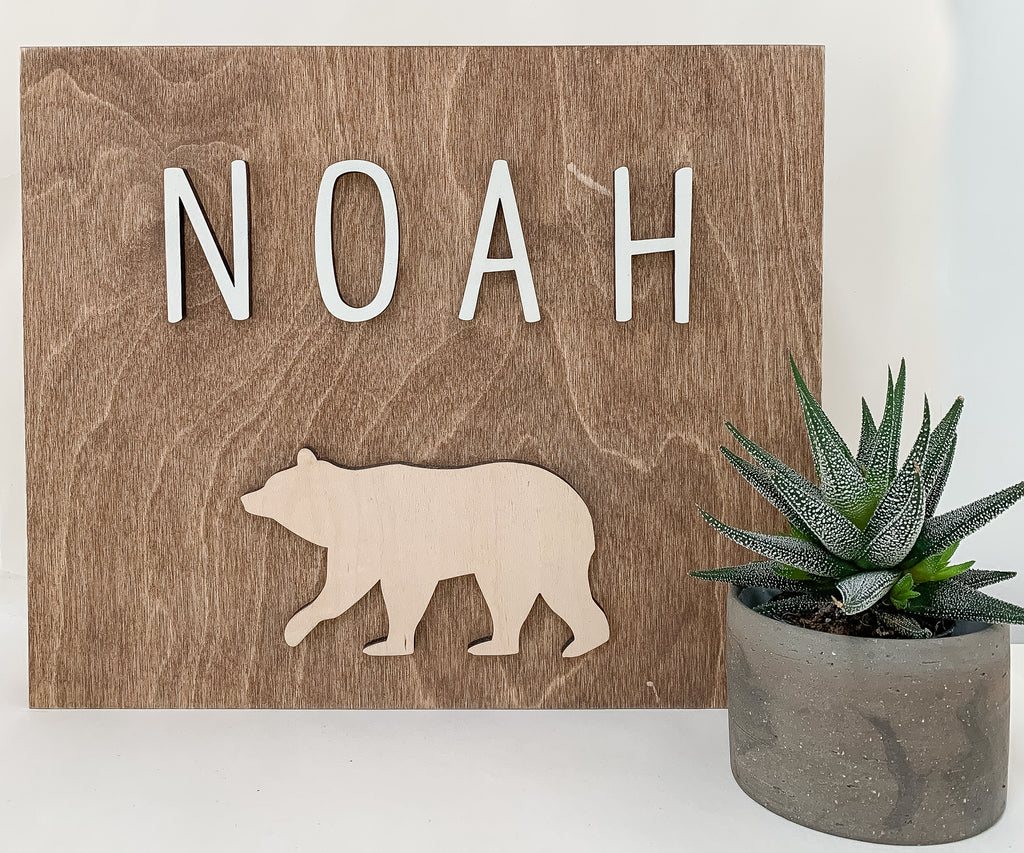 custom critter name sign_urban nest decor