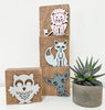 bear bee fox giraffe lion owl sheep elephant_urban nest decor