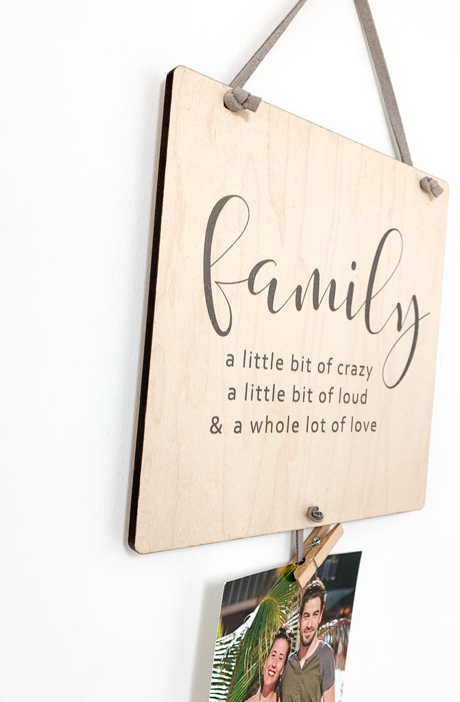 Together Is Our Favourite Place To Be Square Memory Keeper. A perfect way to display your favorite photos with this unique wall hanging