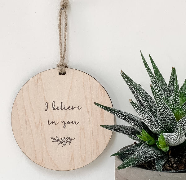 i believe in you_urban nest decor