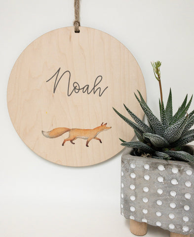 Custom name sign_urbannestdecor