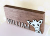 Urban Nest Decor, Custom Name Signs, Giraffe, Nursery Decor, Nursery Decor