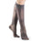 Sigvaris Sheer Fashion Women's 15-20 mmHg Knee High, Charcoal