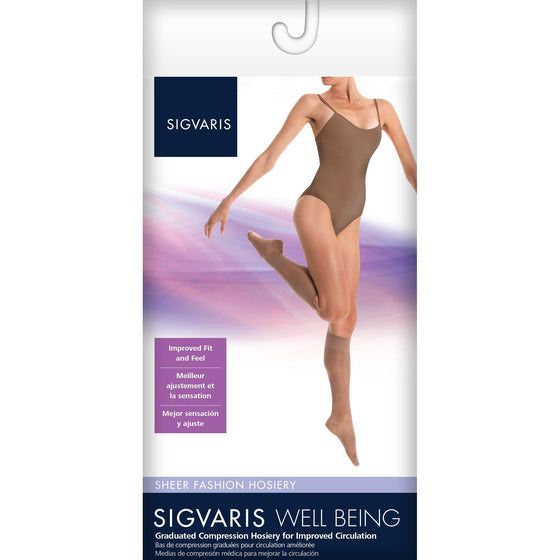 Sigvaris Sheer Fashion Women's 15-20 mmHg Knee High