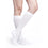 Sigvaris Cushioned Cotton Women's 20-30 mmHg Knee High, White
