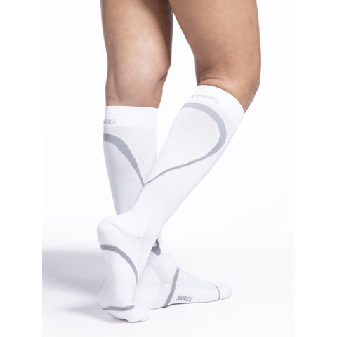 Sigvaris High Tech 15-20 mmHg Knee High, White
