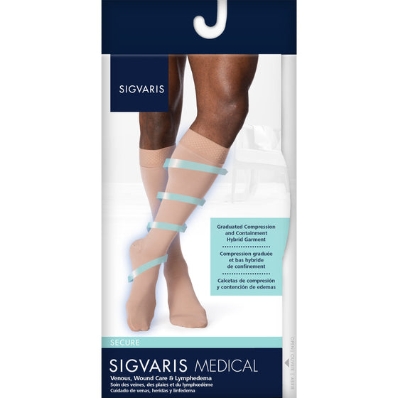 Sigvaris Secure Men's 20-30 mmHg Knee High
