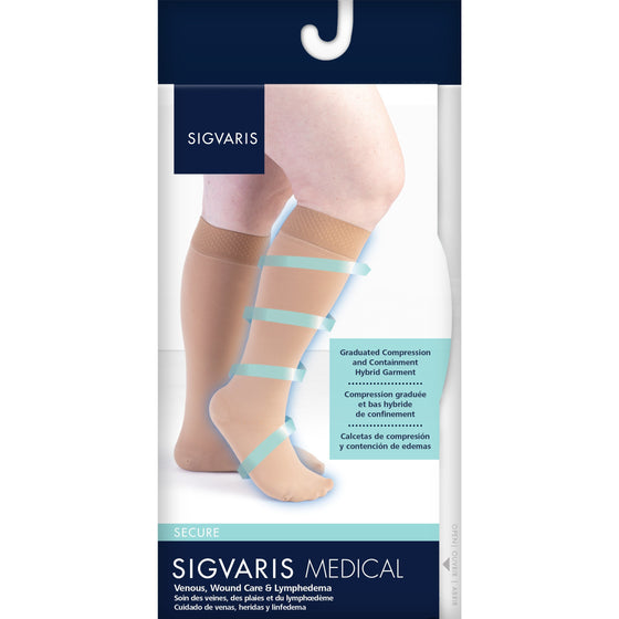 Sigvaris Secure Women's 40-50 mmHg Knee High