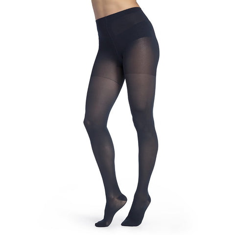 Sigvaris Medium Sheer Women's 20-30 mmHg Pantyhose, Dark Navy