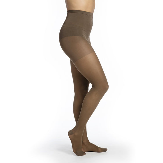 Sigvaris Sheer Women's 20-30 mmHg Pantyhose, Mocha