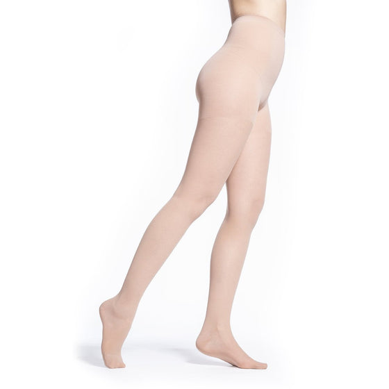 Sigvaris Sheer Women's 20-30 mmHg Pantyhose, Toasted Almond