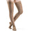 Sigvaris Soft Opaque Women's 30-40 mmHg Thigh High, Nude