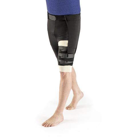 Sigvaris Comprefit Standard Thigh Wrap, Black