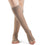 Dynaven 15-20 mmHg OPEN TOE Knee High, Light Beige (Crispa)