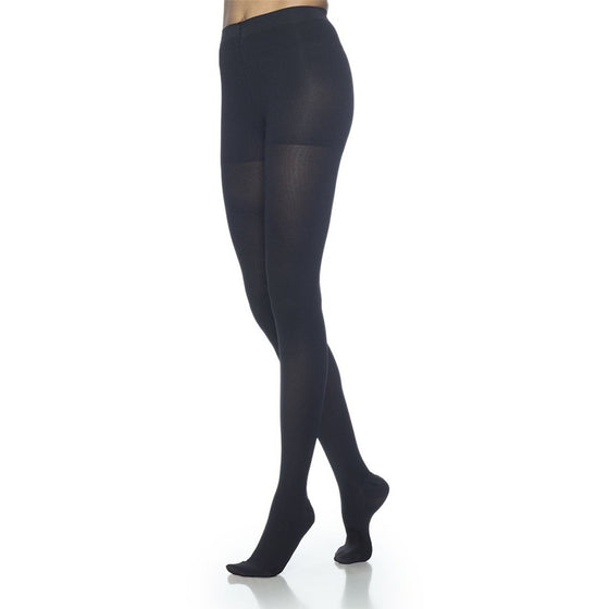 Dynaven Women's 30-40 mmHg Pantyhose, Black