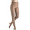 Dynaven Women's 30-40 mmHg Pantyhose, Light Beige (Crispa)