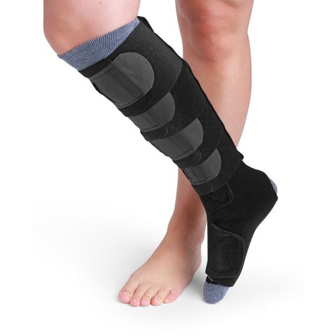 Sigvaris Comprefit Standard Calf & Foot Wrap, Black