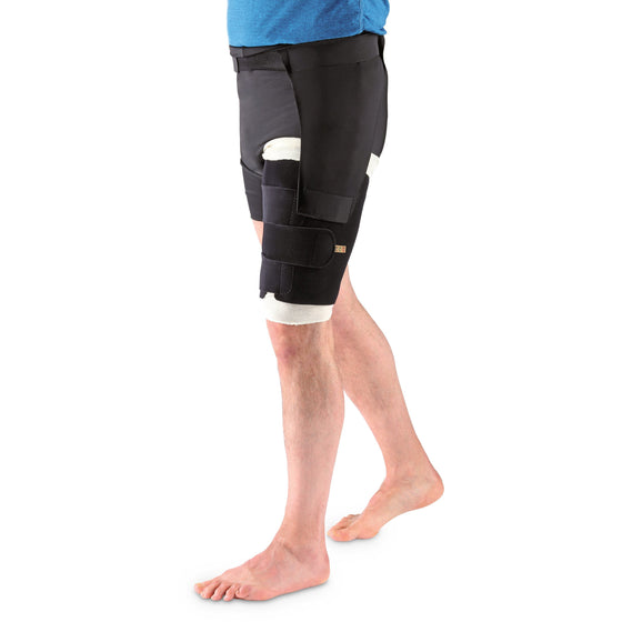 Sigvaris Compreflex Standard Thigh Wrap, Black