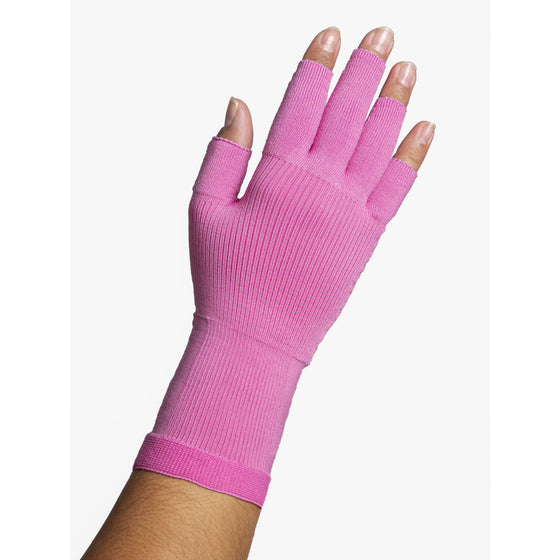 Sigvaris Secure 20-30 mmHg Glove, Dusty Rose