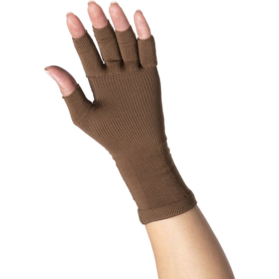 Sigvaris Secure 20-30 mmHg Glove, Cocoa