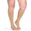 Sigvaris Secure 40-50 mmHg OPEN TOE Knee High, Beige