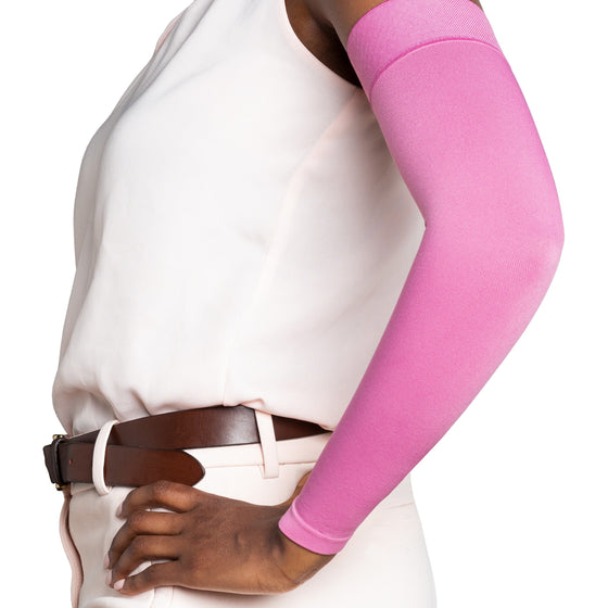 Sigvaris Secure 30-40 mmHg Armsleeve, Dusty Rose