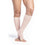Sigvaris Sheer Women's 15-20 mmHg OPEN TOE Knee High, Warm Sand