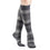 Sigvaris Microfiber Patterns Women's 20-30 mmHg Knee High, Graphite Stripe