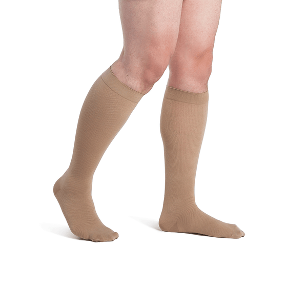 Dynaven Men's 20-30 mmHg Knee High, Crispa