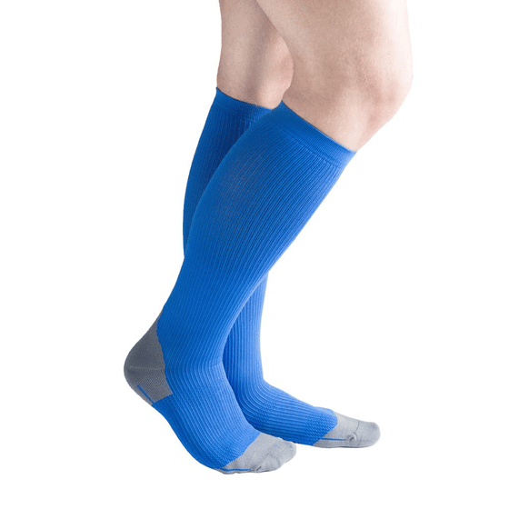 Actifi 20-30 mmHg Athletic Performance Compression Socks, Blue