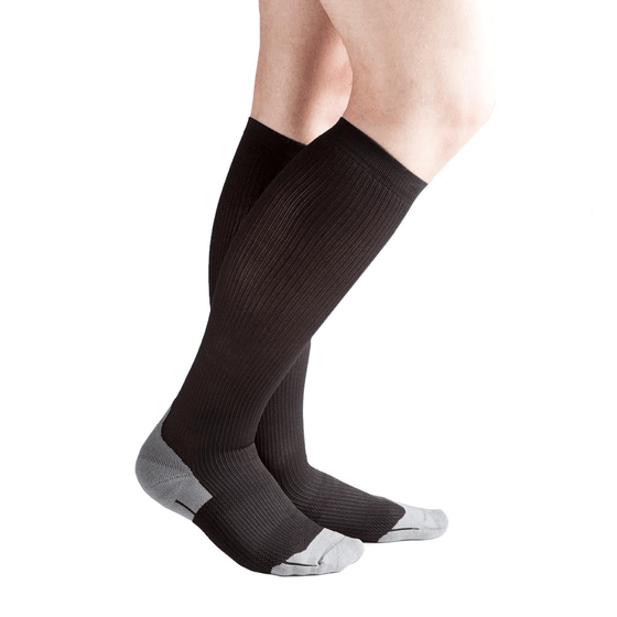 Actifi 20-30 mmHg Athletic Performance Compression Socks, Black