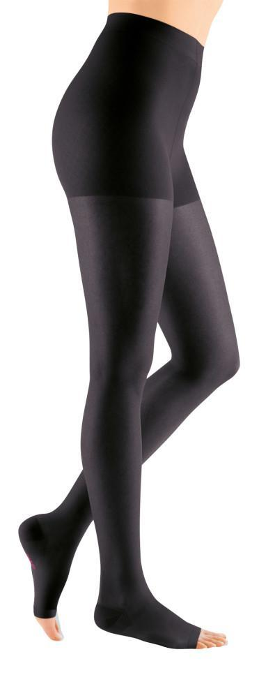 Mediven Sheer & Soft Women's 20-30 mmHg OPEN TOE Pantyhose