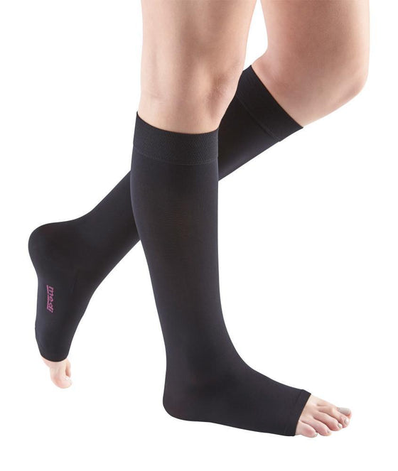 Mediven Comfort 20-30 mmHg OPEN TOE Knee High, Extra Wide Calf