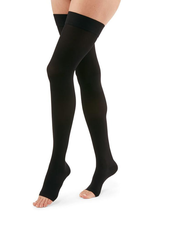 Duomed Advantage 15-20 mmHg OPEN TOE Thigh High