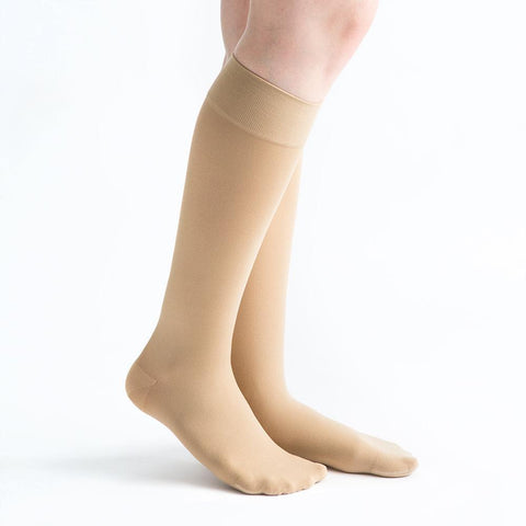VenActive Women's Opaque 20-30 mmHg Knee Highs