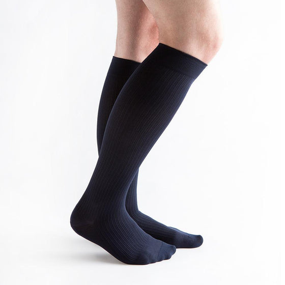 VenActive Men's Classic Rib 15-20 mmHg Compression Sock