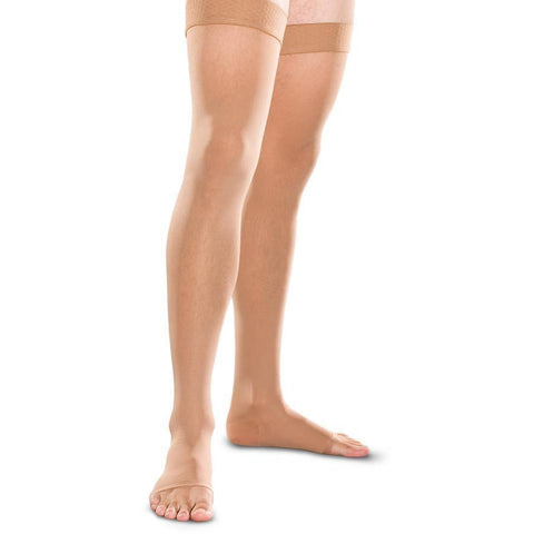 Therafirm 20-30 mmHg OPEN TOE Thigh High