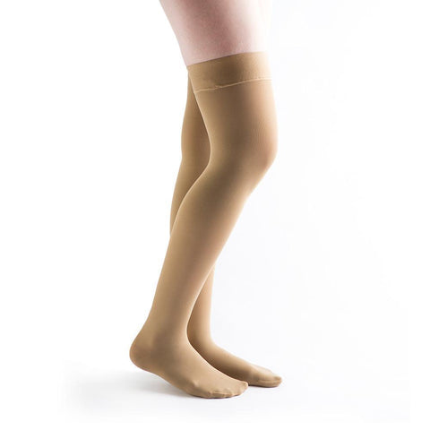VenActive Women's Opaque 15-20 mmHg Thigh Highs